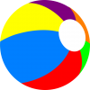 Colorful Beach Ball image #41207