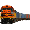 Colorful Classic Train Transparent Background image #47974