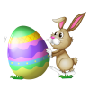 Colorful Easter With Bunny image #46565
