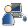 Computer User Icon Free image #16396