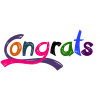 High Resolution Congratulations  Clipart image #22063
