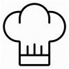 Cook Chef Hat Icon image #13715