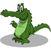 Crocodile  Cartoon Image image #37534