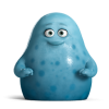 Cute Blue Monsters University Icon image #2715