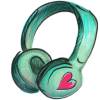 Cute Headphone Icon image #32285
