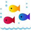 Cute School Of Fish image #3922