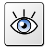 Description Nuvola Eye Icon image #1485