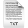 Document Text File Txt / Filecons Light / 96px / Icon Gallery thumbnail 1213
