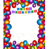 Download Birthday Party Frame Clipart image #45899
