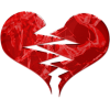 Download Broken Heart Icon image #45722