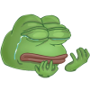 Download Sad Pepe  Clipart image #45796
