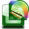 Easy Paint Tool Sai Reflective Icon image #43788