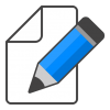 Edit  Icon Blue Pencil image #3598