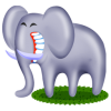 Elephant Icon Svg image #11592