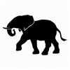 Elephant Icon Download Free Vectors image #11599