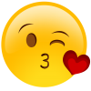 Emoticons Whatsapp Kiss, Hearts  Images image #45549