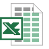 Excel Spreadsheet Icon image #3381