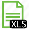 Excel Spreadsheet Icon File, Type, Xls Icon image #3393