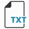Txt File Transparent image #1204
