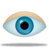 Eye Icon | Pretty Office 8 Iconset | Custom Icon Design image #1466