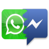 Facebook Messenger Vs Whatsapp Logo image #44103