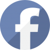 Facebook Radius Transparent Logo image #38358
