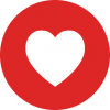 Facebook Red Love Heart image #44005