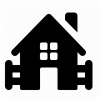 Farm, Home, House Icon image #2801