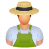 Farmer Agriculture Icon image #2782