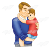 Fathers Day Clip Art image #7604