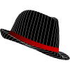 High Resolution Fedora  Clipart image #34094
