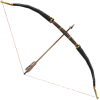 FFXI Archery Bow And Arrow Png image #44419