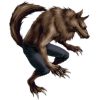 Fictional Character Illustration Clip Art, Image, Werewolf image #48841