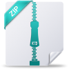 Icon File Zip Download image #6837