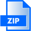 File Zip Download Icon image #6838