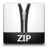 File Zip Size Icon image #6813