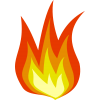 Fire Icon Clip Art Photo thumbnail 44298