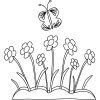 Flower Pot Clipart Black And White image #41812