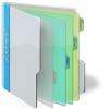 Vector Folder Full Icon image #24493