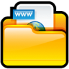 Folder, Www, Site Internet Icon image #20253