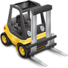 Forklift Delivery Icon image #33829