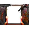 Transparent  Image Frame Halloween thumbnail 31338
