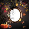 Transparent Background Frame Halloween thumbnail 31344
