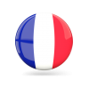 Free France Flag Icon image #18730