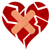 Free Download Of Broken Heart Icon Clipart image #45698