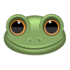 Vector  Frog image #10588