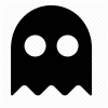 Icon Vector Ghost image #12479