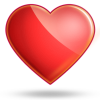 Glassy Heart Icon image #3334