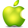 Glossy Apple Icon image #3327