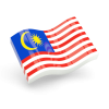 Glossy Wave Icon Download Flag Icon Of Malaysia image #41831